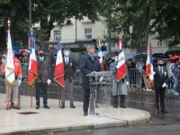 Un 14 juillet pluvieux mais heureux à Chalon-sur-Saône