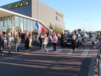180 personnes pour la 15ème mobilisation anti-pass sanitaire dans les rues de Chalon-sur-Saône
