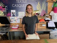 Lison Poulet, 20 ans, désormais dans la vie active chez 'Pixel Création'