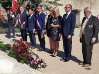 Commémoration du 77ème anniversaire de la libération de Givry