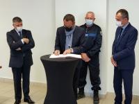 Signature d'une Convention de coordination entre la police municipale de Givry et les forces de sécurité de l'État