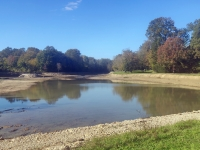 Travaux d'ampleur à l'étang givrotin de Fontaine couverte