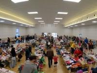 La bourse au matériel de puériculture, jouets, vêtements petite enfance s'est tenue samedi 16 octobre à Châtenoy le Royal.