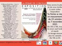 Une exposition à la Ferme de Corcelle de Châtenoy le Royal avec 27 artistes.