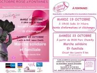 Fontaines va marcher samedi 23 octobre en soutien à l'action Octobre Rose.