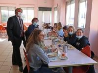 Restauration scolaire : la semaine du goût au collège Pasteur de Saint Rémy.