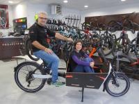 Cécile et David ont testé le vélo cargo pour vous!