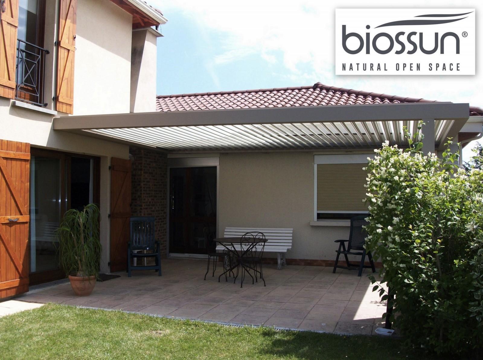 Profitez d un prix foire pour vous offrir une pergola bioclimatique bios - Pergola bioclimatique biossun ...