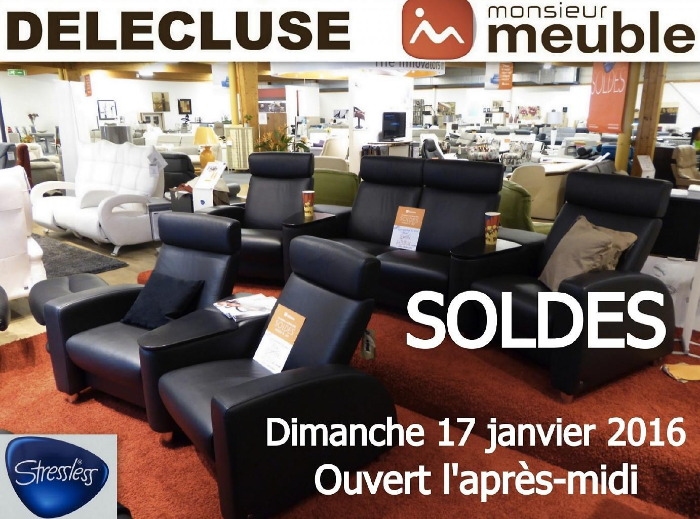 soldes jusqu 60 chez monsieur meuble del cluse chalon. Black Bedroom Furniture Sets. Home Design Ideas