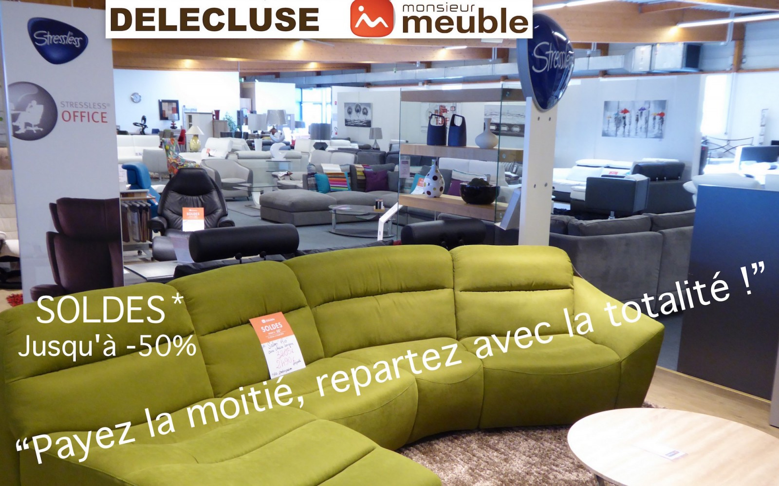 soldes d t chez monsieur meuble del cluse chalon sa ne info chalon l 39 actualit de info chalon. Black Bedroom Furniture Sets. Home Design Ideas