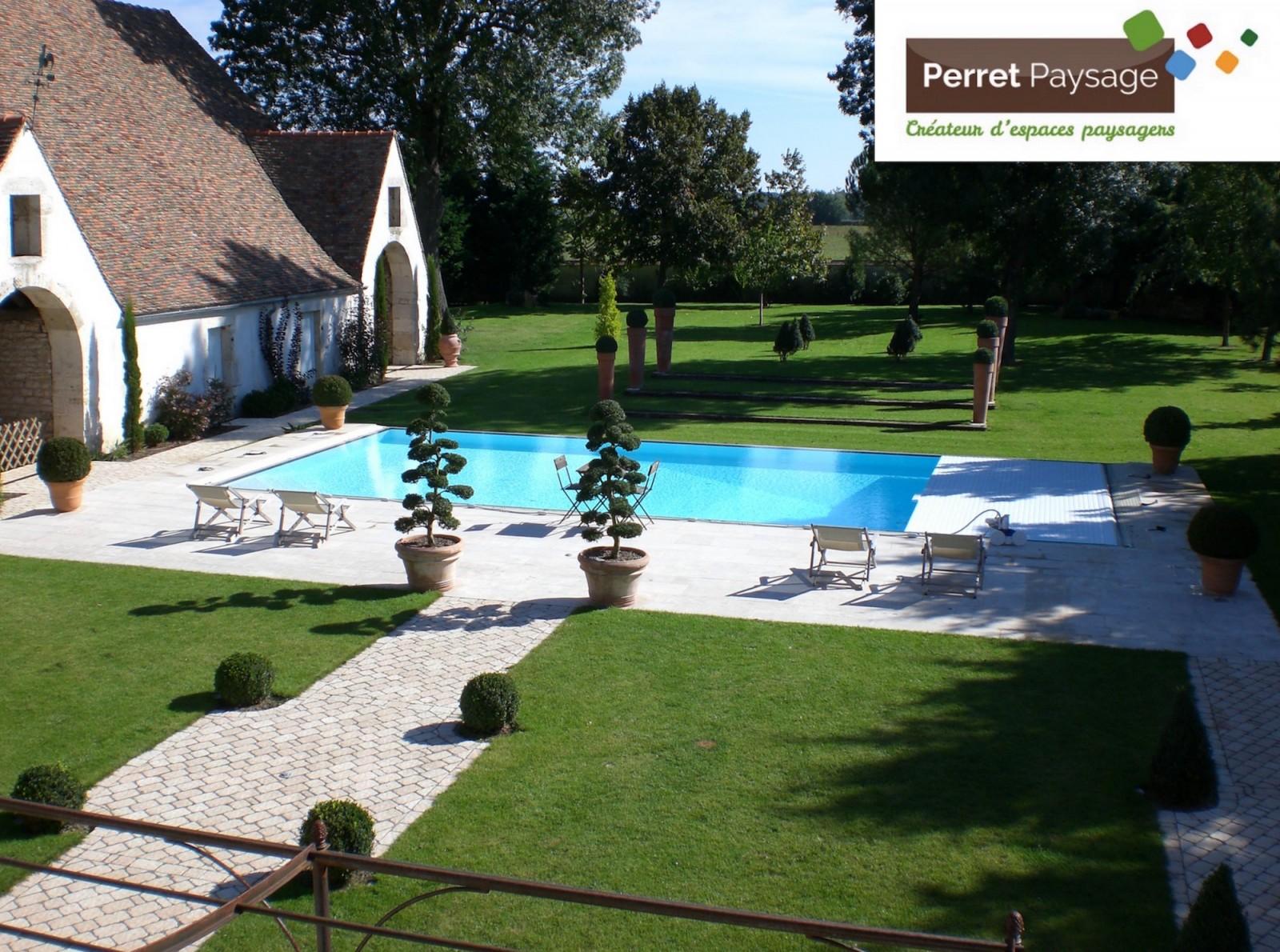 la piscine paysag e avec perret paysage une int gration parfaite dans votre jardin info chalon. Black Bedroom Furniture Sets. Home Design Ideas