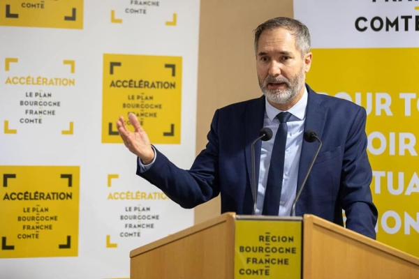 REGIONALES  - Stéphane Guiguet, Vice-Président du Conseil Régional de Bourgogne-Franche Comté claque la porte et démissionne