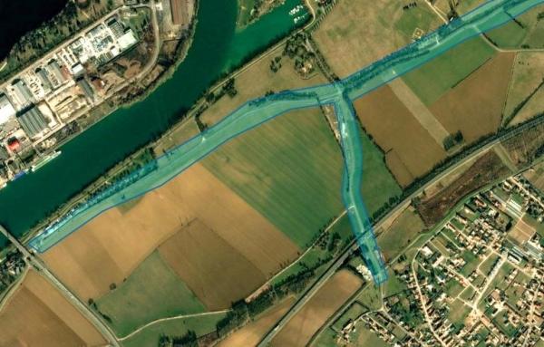 A Saint-Marcel, plusieurs routes interdites à la circulation suite à la crue
