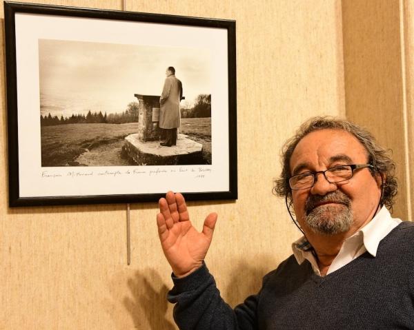Les bonnes photos et les bonnes histoires de Jean-Paul Gollin avec François Mitterrand
