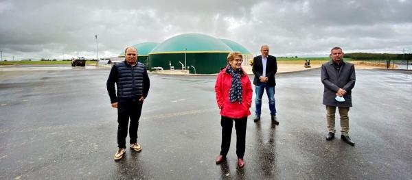 RÉGIONALES : Marie-Guite Dufay présente ses engagements en faveur des diversifications agricole, forestière et énergétique