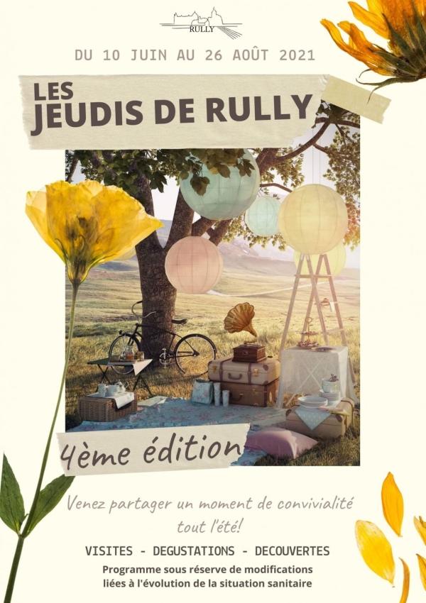 Les Jeudis de Rully reprennent à compter du 10 juin et pour tout l'été