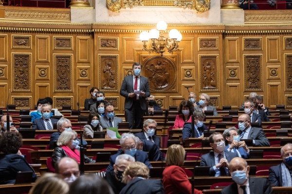 Campagne de vaccination - Le sénateur de Saône et Loire Fabien Genet demande au gouvernement d'accélérer