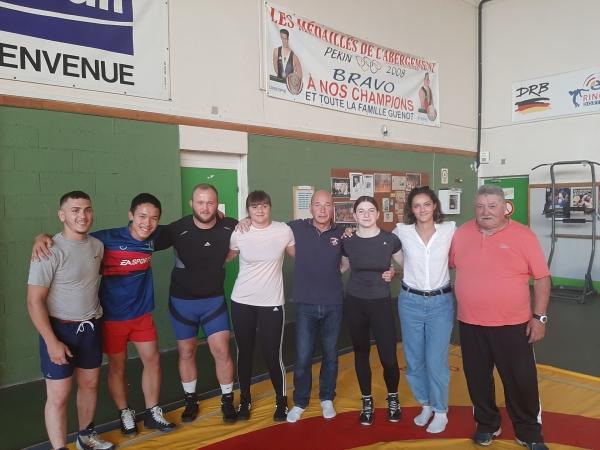 Reprise des entraînements à la section lutte de l'ASL Champforgeuil.