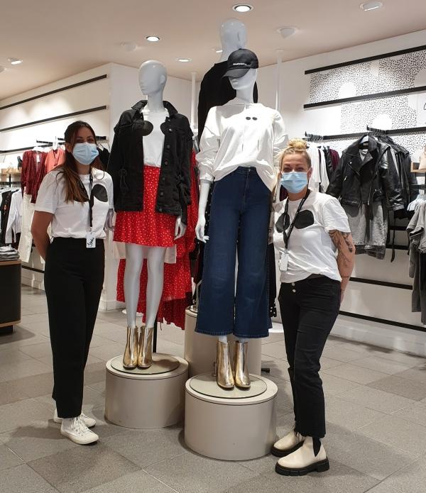 A Chalon sur Saône, les magasins Camaïeu innovent