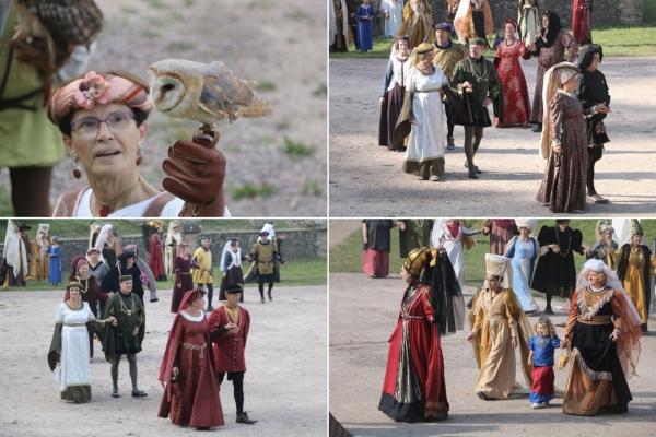 Rapaces, cortège et danses médiévales pour clore le Festival d'Augustodunum à Autun