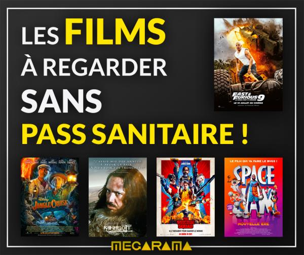 Megarama Chalon s'adapte et propose des films sans pass sanitaire