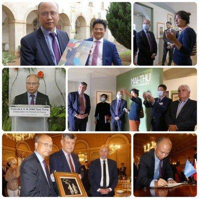 L'ambassadeur du Vietnam en visite à Mâcon