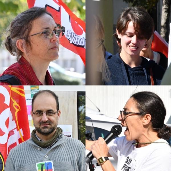 Les enseignants ont manifesté devant le rectorat à Dijon