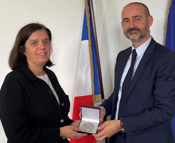 Bénédicte KIEHL-REDON, directrice départementale de la sécurité publique, quitte la Saône-et-Loire et rejoint la place Beauvau