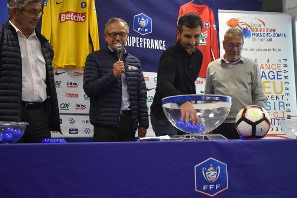 FOOTBALL : Les affiches des clubs de Bourgogne-Franche-Comté en Coupe de France