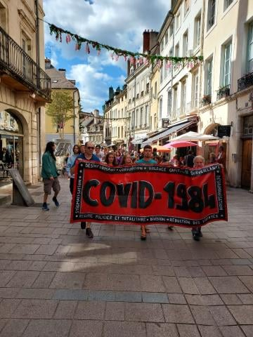 Nouveau samedi de mobilisation contre le pass sanitaire  à Chalon sur Saône