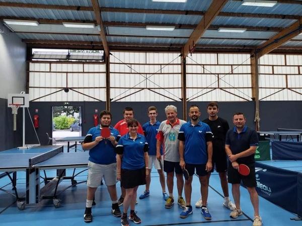 Redémarrage en force pour le Saint Rémy Tennis de Table en championnat