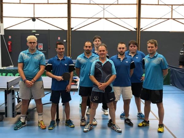 3 sur 3 pour le Saint-Rémy Tennis de Table ce week-end