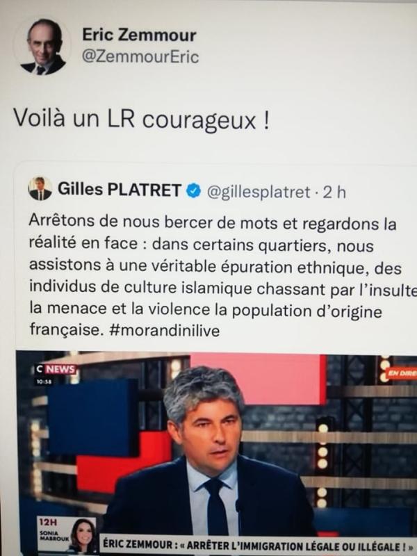 Le Rubicon idéologique une fois encore enjambé par Gilles Platret ?