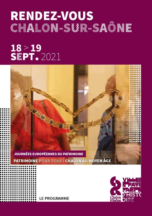 JOURNÉES EUROPÉENNES DU PATRIMOINE-  Les samedi 18 et dimanche  19 septembre sur le thème « Patrimoine pour tous ! »