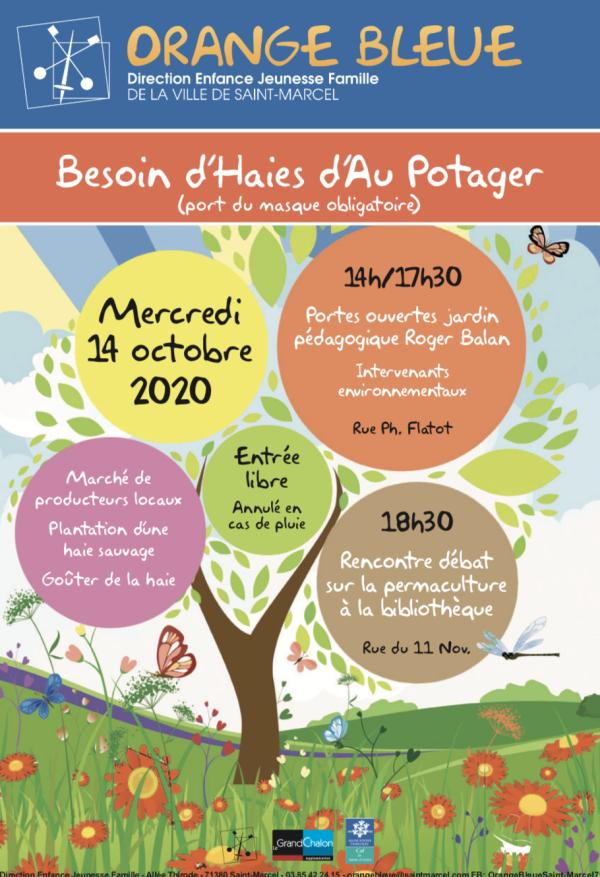 Un après-midi « Portes Ouvertes » au jardin pédagogique Roger Balan à Saint-Marcel