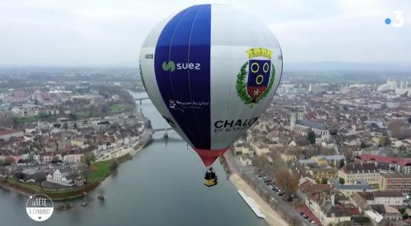 Bravo à France 3 et à La tête à l'endroit pour des images inédites de Chalon sur Saône.