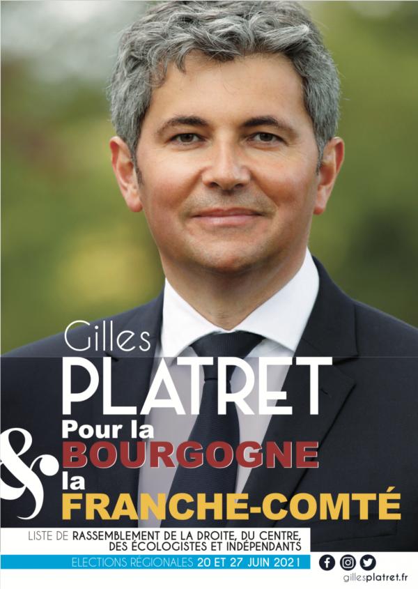 REGIONALES - Gilles Platret salue le soutien de Michel Zumkeller, député de Belfort et référent de l'UDI pour la Bourgogne et la Franche-Comté