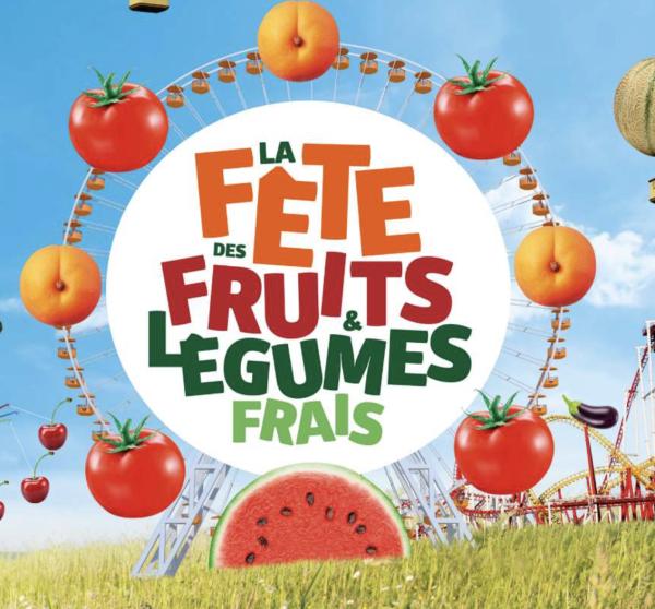 Le Grand Chalon, seul territoire Bourguignon à participer à la fête des fruits et légumes frais