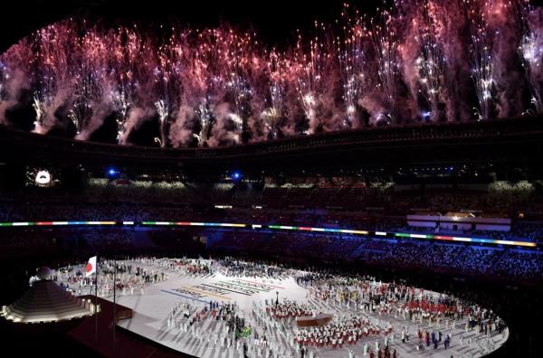 JO 2021 : les images fortes de la cérémonie d'ouverture