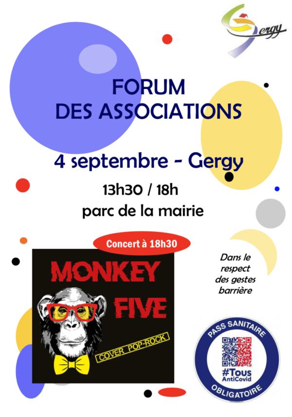 Forum des associations ce samedi à Gergy