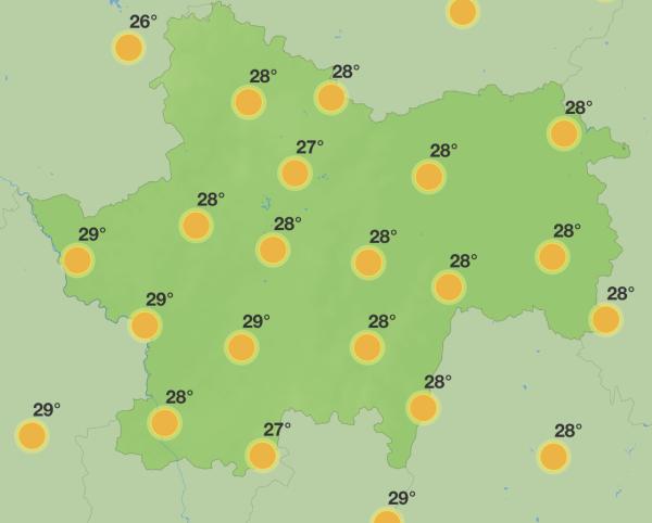 Des journées avec un parfum d'été... au moins jusqu'à jeudi en Saône et Loire