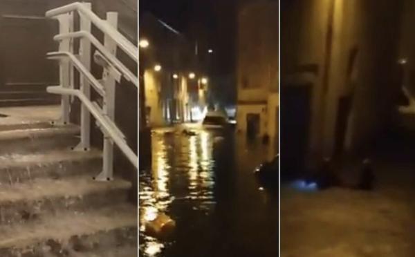 Orages à Agen : deux mois de pluie en deux heures, jusqu'à deux mètres d'eau dans certaines rues