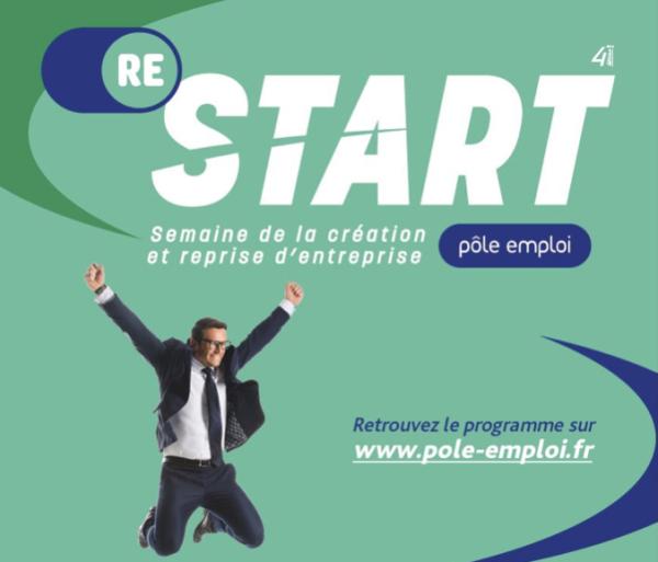 4e Semaine de la création et de la reprise d'entreprise : un événement national dédié à l'entrepreneuriat  et au retour à l'emploi