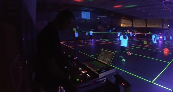 Revivez en vidéo la Nuit du badminton organisée à Saint-Marcel