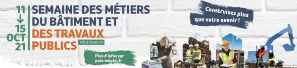 Semaine des métiers du Bâtiment et des Travaux Publics, 12 évènements en Bourgogne-Franche Comté