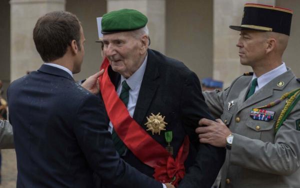 Hubert Germain, dernier compagnon de la Libération, est mort