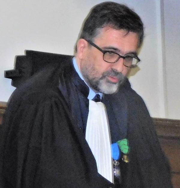 Damien Savarzeix, procureur de la République, se confie avant son départ de Chalon-sur-Saône pour Grasse