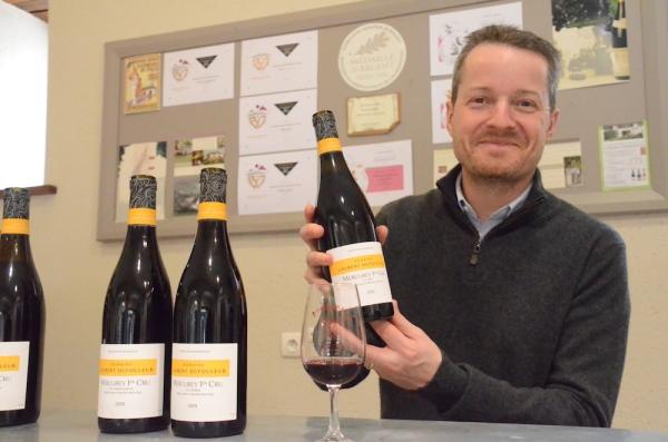 Le domaine Laurent Dufouleur, un nouveau sur la place viticole à Mercurey