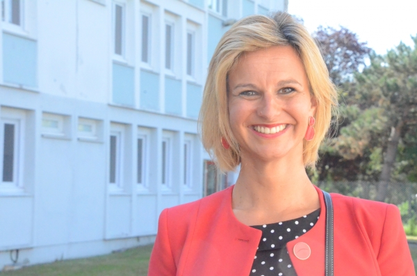"""""""Pour cette rentrée scolaire, les priorités sont réaffirmées par le Conseil Régional de Bourgogne-Franche Comté"""" pour Océane Charret-Godard"""