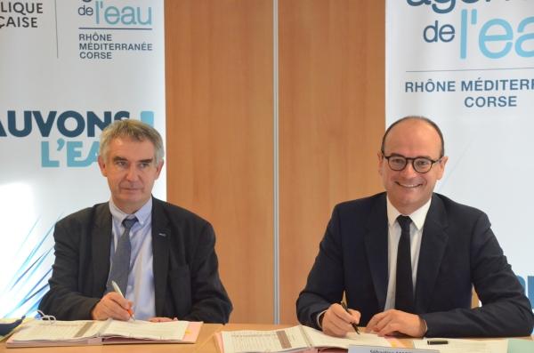 L'Agence de l'eau Rhône-Méditerranée-Corse avec une enveloppe de 15,6 millions d'euros en faveur du Chalonnais